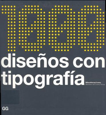 1000 disenos con tipografia: