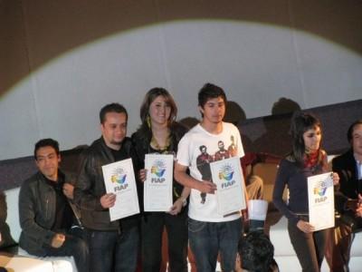 Premiación FIAP 2008 Estudiantes Creativos