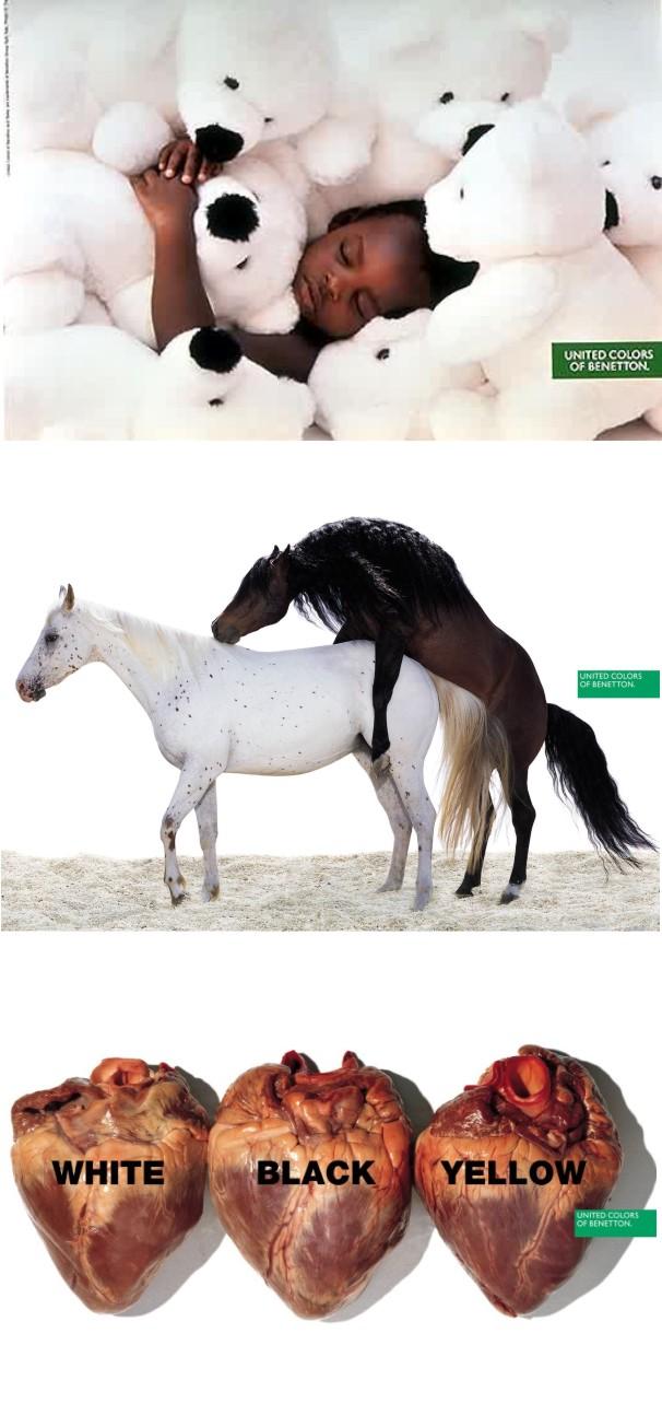 Minnywina el impacto social de la campana publicitaria for Benetton y sus campanas publicitarias
