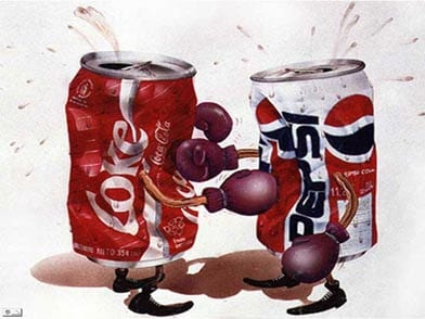 Coca cola vs Pepsi (La batalla final)