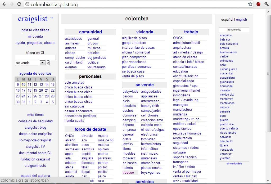 Craigslist Puerto Vallarta >> Craigslist Un Contenido Web Perfecto Conexion Central